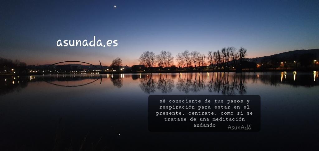 Atardecer sobre el río Lérez en Pontevedra, por AsunAdá