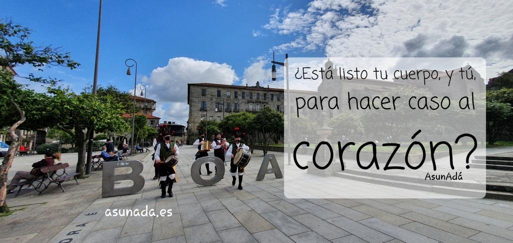 Los Alegres tocando por BOA Vila, Pontevedra. Por AsunAdá